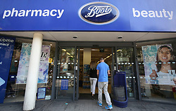 """File photo dated 06/08/14 of a Boots the Chemist shop, as the high street chemist said it is """"truly sorry"""" for the way it responded to a campaign calling for it to cut the price of emergency contraception and announced it is looking for cheaper alternatives."""