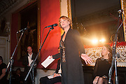 SAMANTHA BOND LUCY BERESFORD, The Literary Review Bad Sex fiction award 2012. The In and Out Club, 4 St. james's Sq. London. 4 December 2012