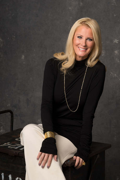 TV chef Sandra Lee photographed in studio photographed in NYC