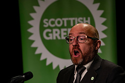 Pictured: Patrick Harvie<br /><br />Scottish Greens co-leaders Patrick Harvie MSP and Lorna Slater held a media conference prior to the partry's Autumn Conference which takes place on-line from today till Sunday 25 October.<br /><br />Ger Harley | EEm 23 October 2020