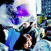 Balloon delivery, New York, United States (March 2005)