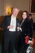 LOUIS GREIG; ANNA LAMY, THE ST PETERSBURG BALL in aid of the Children's Burns Trust. Landmark Hotel. London. 2 February 2013