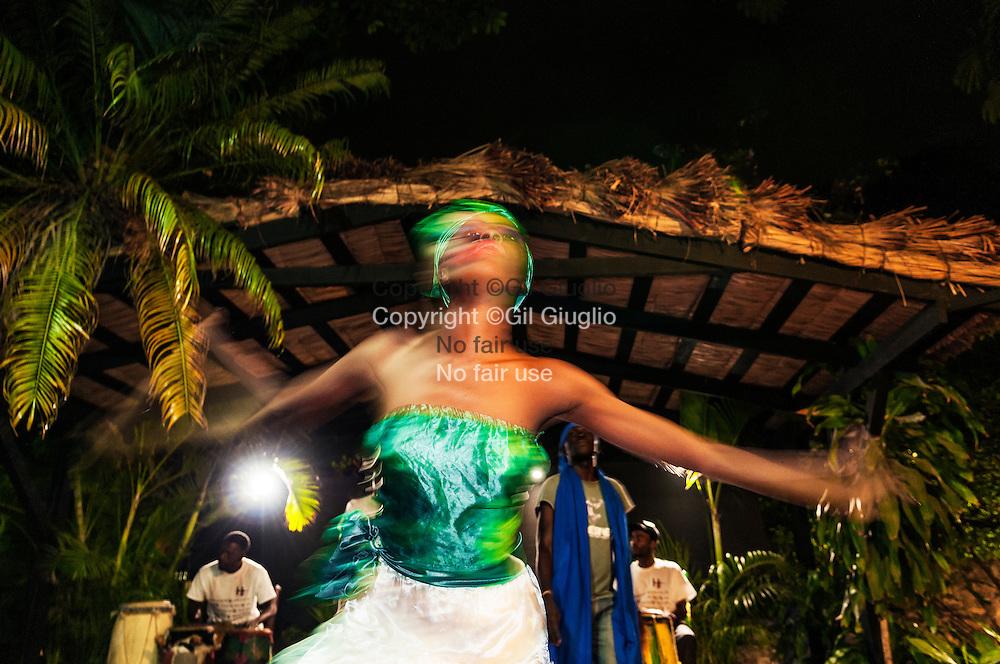 Haïti, Port-au-Prince, dances vaudous à Petionville // Haiti, Port au Prince, woodoo dance at Petionville