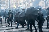 Black Bloc Global Security Demonstrations