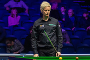 Day 3 of the 19.com World Snooker Home Nations Scottish Open. Action from the Evening session Neil Robertson Vs Ian Burns during the World Snooker Scottish Open at the Emirates Arena, Glasgow, Scotland on 11 December 2019.