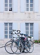 Bicycles in Saint-Martin-de-Ré, Ile de Ré, France