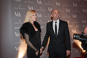 AMBER WIEDHOLZ; JASON ALPER, Hollywood Costume gala dinner, V and A. London. 16 October 2012