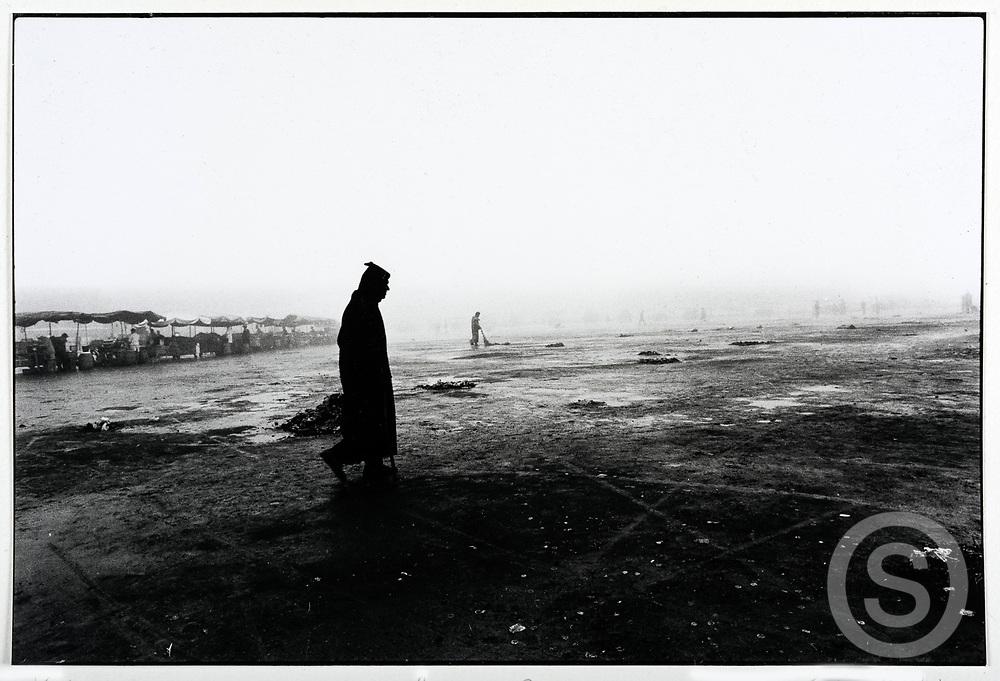 Photographer: Chris Hill, Jemaa El Fna, Marrakech 1989