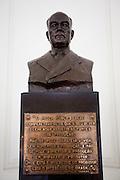 Porto Alegre_RS, Brasil.<br /> <br /> Busto de Getulio Vargas no Palacio Piratini em Porto Alegre, sede do governo do Rio Grande do Sul.<br /> <br /> Getulio Vargas statue in Piratini Palace in Porto Alegre, Rio Grande do  Sul.<br /> <br /> Foto: JOAO MARCOS ROSA / NITRO