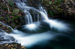 Stock photo of the Frio River waterfalls in the Texas Hill Country