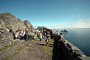 The Skellig Rocks off Portmagee in County Kerry...Picture by Don MacMonagle 2007