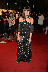 CLAUDIA WINKLEMAN at the GQ Men of The Year Awards 2016 in association with Hugo Boss held at Tate Modern, London on 6th September 2016.