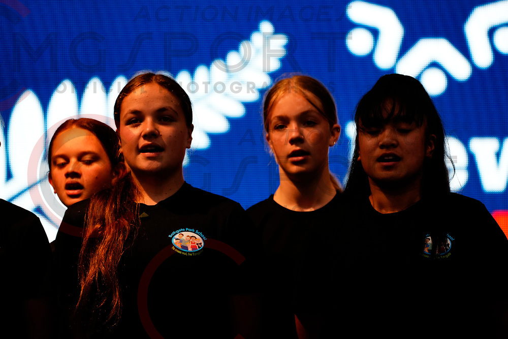 New Zealand Masters Games 2020<br /> Opening Ceremony<br /> <br /> Otago Community Trust NZ Masters Games<br /> Dunedin<br /> Feb 1- 9 2020<br /> Photo by Sharon Brophy CMGSPORT<br /> www.cmgsport.co.nz