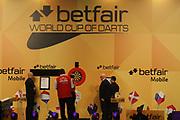 Darts: Betfair Team World Cup 2013, Hamburg, 03.02.2013<br /> Illustration<br /> © Torsten Helmke