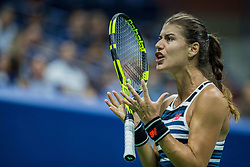 August 31, 2018 - Flushing Meadow, NY, U.S. - FLUSHING MEADOW, NY - AUGUST 30: SORANA CIRSTEA (ROU) day four of the 2018 US Open on August 30, 2018, at Billie Jean King National Tennis Center in Flushing Meadow, NY. (Photo by Chaz Niell/Icon Sportswire) (Credit Image: © Chaz Niell/Icon SMI via ZUMA Press)