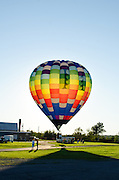 'Easy Rider' ready to lift off at the Crown of Maine Balloon Fair, Presque Isle, Maine.