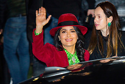 Salma Hayek arriving at Saint Laurent show during Ready To Wear A/W 2019-2020 as part of Paris Fashion Week on February 26, 2019 in Paris, France. Photo by Nasser Berzane/ABACAPRESS.COM