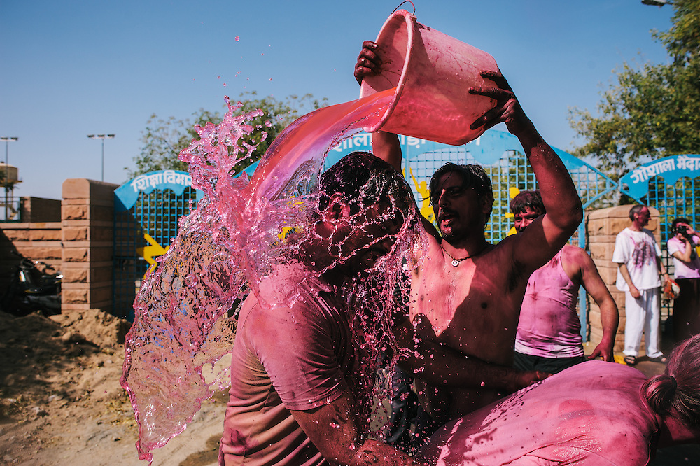 Holi is celebrated across India. The essential spring welcoming, a festival of colour when people from all walks of life meet in the streets in an explosion of hues.