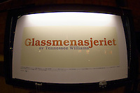 Glass Menagerie, National Theater, Winter in Oslo Norway