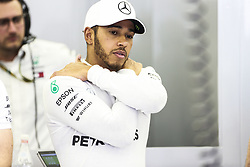 April 6, 2018 - Sakhir, Bahrain - Motorsports: FIA Formula One World Championship 2018, Grand Prix of Bahrain,#44 Lewis Hamilton (GBR, Mercedes AMG Petronas F1 Team) (Credit Image: © Hoch Zwei via ZUMA Wire)