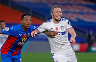 Leeds United defender Luke Ayling (2)  during the Premier League match between Crystal Palace and Leeds United at Selhurst Park, London, England on 7 November 2020.