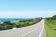 Highway 11 on Taiwan's east coast stretches along some beautiful coastline.