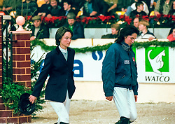 Wauters Wendy, Mc Naught Leslie<br /> Jumping Mechelen 1998<br /> © Hippo Foto - Dirk Caremans<br /> 03/12/2020