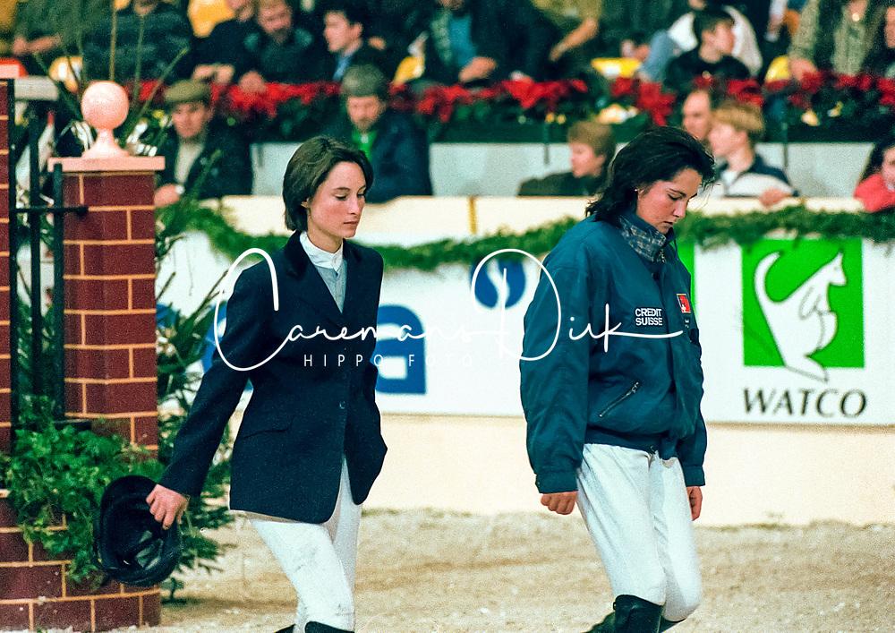 Wauters Wendy, Mc Naught Leslie<br /> Jumping Mechelen 1998<br /> © Hippo Foto - Dirk Caremans<br /> 03/12/2020