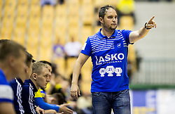 Branko Tamse, coach of Celje during handball match between RK Celje Pivovarna Lasko and RK Gorenje Velenje in Last Round of 1. Liga NLB 2016/17, on June 2, 2017 in Arena Zlatorog, Celje, Slovenia. Photo by Vid Ponikvar / Sportida