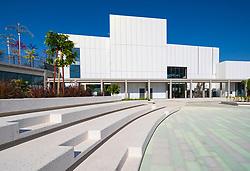 View of new Jameel Arts Centre in Dubai, UAE, United Arab Emirates