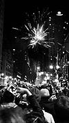 Broad Street celebration in Philadelphia, PA after Super Bowl LII.