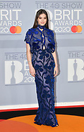 The 40th BRIT Awards show  Tuesday 18th February at The O2 Arena in London.<br />Hailee Steinfeld