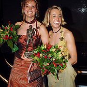 NLD/Amsterdam/20051222 - NOC / NSF Sportgala 2005, Sportploeg van het jaar Marcelien de Koning / Lobke Berkhout
