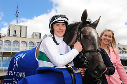 Who's Steph and jockey Colin Keane after winning the Derrinstown Stud 1,000 Guineas Trial during Derrinstown Stud Derby Trial Day at Leopardstown Racecourse, Dublin.