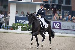 Nijvelt Karen, NED, Elysias<br /> World Championship Young Dressage Horses <br /> Ermelo 2016<br /> © Hippo Foto - Dirk Caremans<br /> 29/07/16