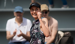 May 23, 2019 - Paris, FRANCE - Antonia Lottner of Germany in action during the second qualification round at the 2019 Roland Garros Grand Slam tennis tournament (Credit Image: © AFP7 via ZUMA Wire)
