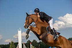 Van Paesschen Constant, BEL, Verdi Treize<br /> Belgisch Kampioenschap Jumping  <br /> Lanaken 2020<br /> © Hippo Foto - Dirk Caremans<br /> 02/09/2020