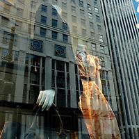 Bergdorf Goodman, spring luggage window