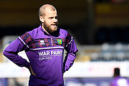 Norwich City forward Teemu Pukki (22)  during the EFL Sky Bet Championship match between Wycombe Wanderers and Norwich City at Adams Park, High Wycombe, England on 28 February 2021.