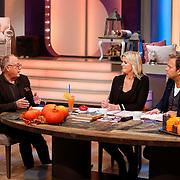 NLD/Hilversum/20121028 - Uitzending Life4You met Carlo Boszhard en Irene Moors, kok Joop Braakhekke