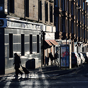 Duke Street Glasgow. David Blair has set up a petition on change.org . A letter to Glasgow City Council to immortalise David Bowie by changing Glasgow's Duke Street to 'Thin White Duke Street'. David Bowie's passing has seen an outpouring of grief not seen in a long time in the music world. Bowie played the legendary east-end Barrowland Ballroom (not far from Duke Street) on Tuesday 22nd July 1997. Picture Robert Perry 15th Jan 2016<br /> <br /> Must credit photo to Robert Perry<br /> FEE PAYABLE FOR REPRO USE<br /> FEE PAYABLE FOR ALL INTERNET USE<br /> www.robertperry.co.uk<br /> NB -This image is not to be distributed without the prior consent of the copyright holder.<br /> in using this image you agree to abide by terms and conditions as stated in this caption.<br /> All monies payable to Robert Perry<br /> <br /> (PLEASE DO NOT REMOVE THIS CAPTION)<br /> This image is intended for Editorial use (e.g. news). Any commercial or promotional use requires additional clearance. <br /> Copyright 2014 All rights protected.<br /> first use only<br /> contact details<br /> Robert Perry     <br /> 07702 631 477<br /> robertperryphotos@gmail.com<br /> no internet usage without prior consent.         <br /> Robert Perry reserves the right to pursue unauthorised use of this image . If you violate my intellectual property you may be liable for  damages, loss of income, and profits you derive from the use of this image.