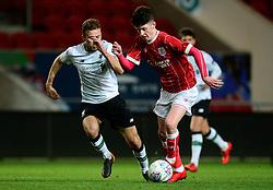 Bristol City's Rory Holden attacks forward.  - Mandatory by-line: Alex James/JMP - 13/02/2018 - FOOTBALL - Ashton Gate Stadium - Bristol, England - Bristol City U23 v Liverpool U23 - Premier League Cup