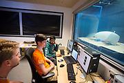 In Delft wordt de VeloX 7 in de windtunnel getest. In september wil het Human Power Team Delft en Amsterdam, dat bestaat uit studenten van de TU Delft en de VU Amsterdam, tijdens de World Human Powered Speed Challenge in Nevada een poging doen het wereldrecord snelfietsen voor vrouwen te verbreken met de VeloX 7, een gestroomlijnde ligfiets. Het record is met 121,44 km/h sinds 2009 in handen van de Francaise Barbara Buatois. De Canadees Todd Reichert is de snelste man met 144,17 km/h sinds 2016.<br /> <br /> The VeloX 7 is being tested in the wind tunnel in Delft. With the VeloX 7, a special recumbent bike, the Human Power Team Delft and Amsterdam, consisting of students of the TU Delft and the VU Amsterdam, also wants to set a new woman's world record cycling in September at the World Human Powered Speed Challenge in Nevada. The current speed record is 121,44 km/h, set in 2009 by Barbara Buatois. The fastest man is Todd Reichert with 144,17 km/h.
