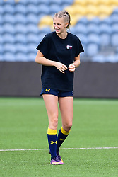 Vicky Laflin of Worcester Valkyries during the pre match warm up - Mandatory by-line: Craig Thomas/JMP - 30/09/2017 - RUGBY - Sixways Stadium - Worcester, England - Worcester Valkyries v Saracens Women - Tyrrells Premier 15s