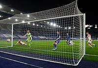 Football - 2020 / 2021 Europa League - Round of 32 - Second Leg - Leicester City vs Slavia Prague - King Power Stadium<br /> <br /> Slavia Prague's Lukas Provod scores the opening goal.<br /> <br /> COLORSPORT/ASHLEY WESTERN