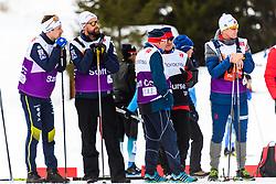 February 24, 2019 - Seefeld In Tirol, AUSTRIA - 190224 Teodor Peterson and Rikard Grip, head coach of Sweden,during women's team sprint final during the FIS Nordic World Ski Championships on February 24, 2019 in Seefeld in Tirol..Photo: Joel Marklund / BILDBYRN / kod JM / 87888 (Credit Image: © Joel Marklund/Bildbyran via ZUMA Press)