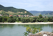 Durnstein, a small town on the Danube river in the Krems-Land district, in the Austrian state of Lower Austria.