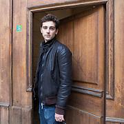 Piccolo Teatro Grassi, Milano, Italia, 29 Marzo 2021. Emanuele Turetta, 31 anni, attore.