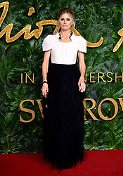 Laura Bailey attending the Fashion Awards in association with Swarovski held at the Royal Albert Hall, Kensington Gore, London.