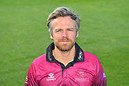 Head shot of James Hildreth in the Royal London One-Day Cup kit during the 2019 media day at Somerset County Cricket Club at the Cooper Associates County Ground, Taunton, United Kingdom on 2 April 2019